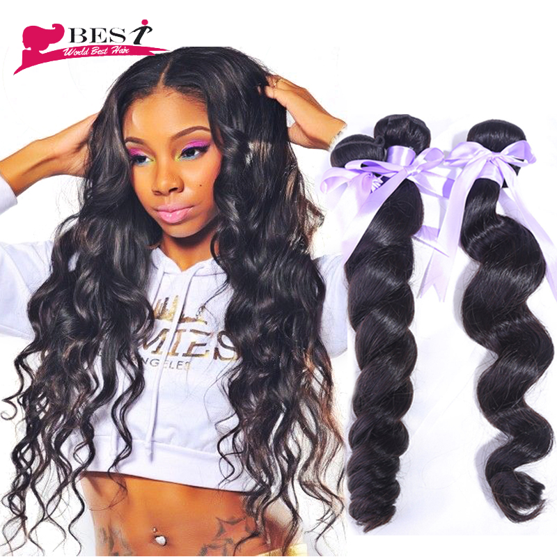 Modern Show Hair Peruvian Loose Wave Virgin Hair 3/4pcs 6A Unprocessed Peruvian Hair Weave sew in   Extensions VIP Beauty Hair<br><br>Aliexpress