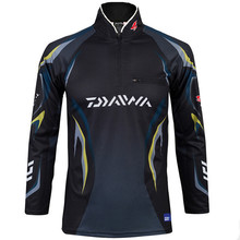 New arrival! Daiwa Men Fishing Clothes UV Protection Moisture Wicking Quick-drying Breathable Fishing Shirt camisas hombre