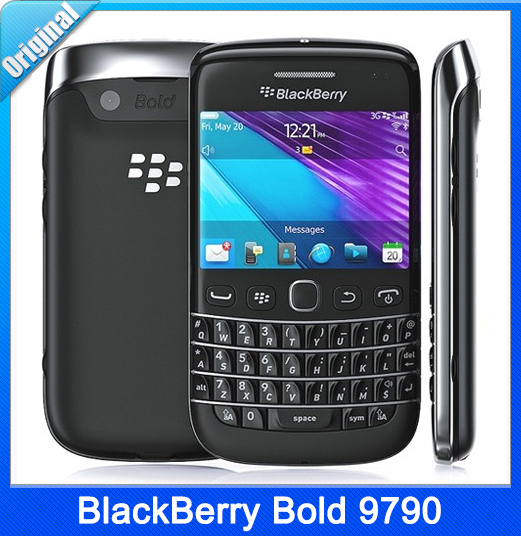 Blackberry Bold 9790 Original Unlocked GSM 3G mobile phone BB 9790 QWERTY Touch Screen WIFI GPS 5MP 8GB Valid PIN Smartphone(China (Mainland))