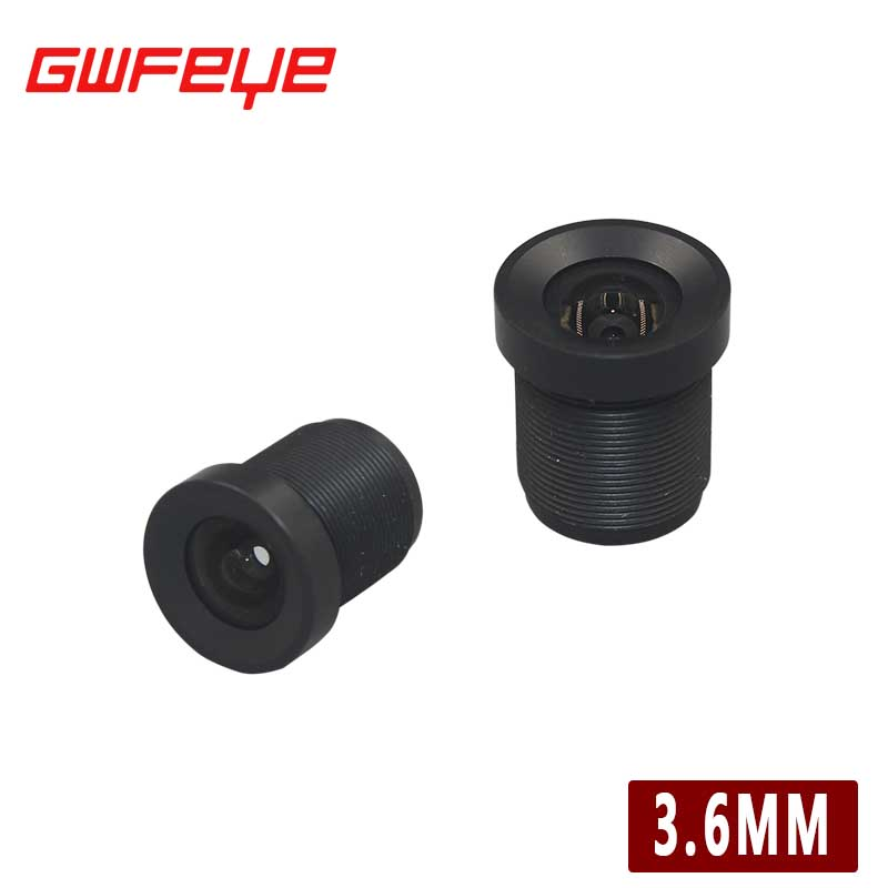 GWFEYE Field of View 89 Degree CCTV Lens 3.6mm Waterproof Small CCTV Camera Lens M12 Mount CCTV Accessories(China (Mainland))