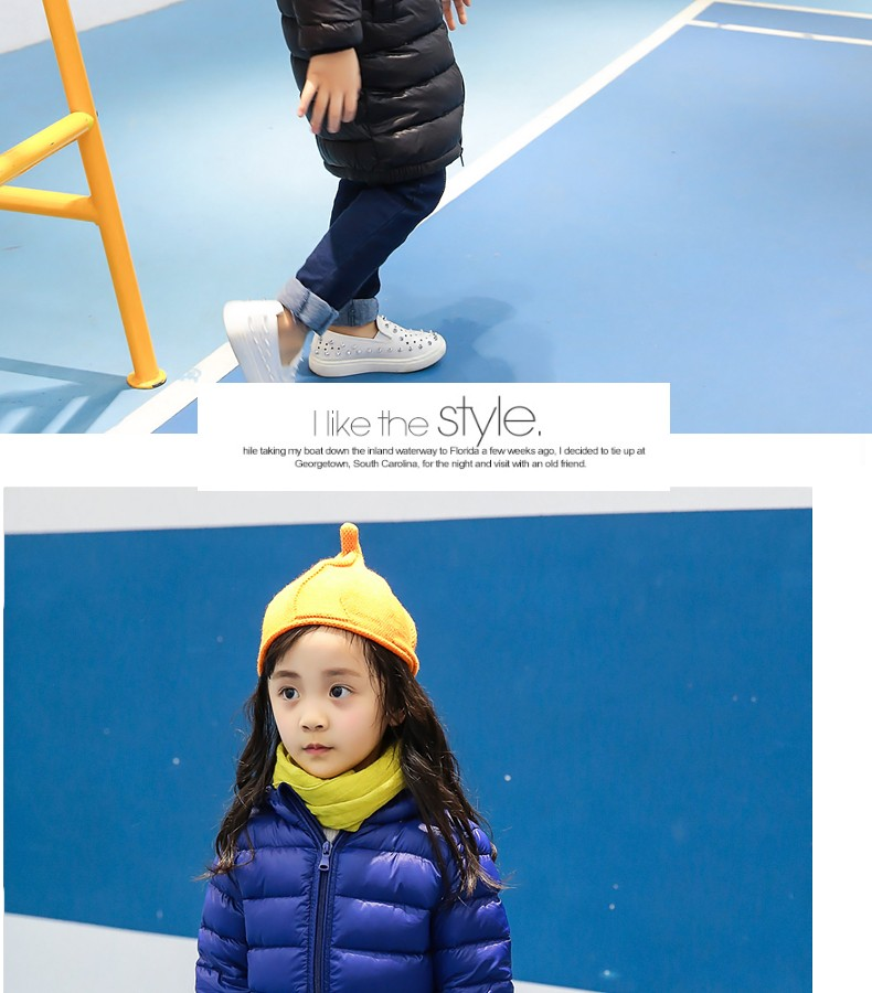 High Quality Girls Thick Down Jacket Winter New Children Long Sections Warm Coat Clothing kids Hooded Down Outerwear 4 Solid