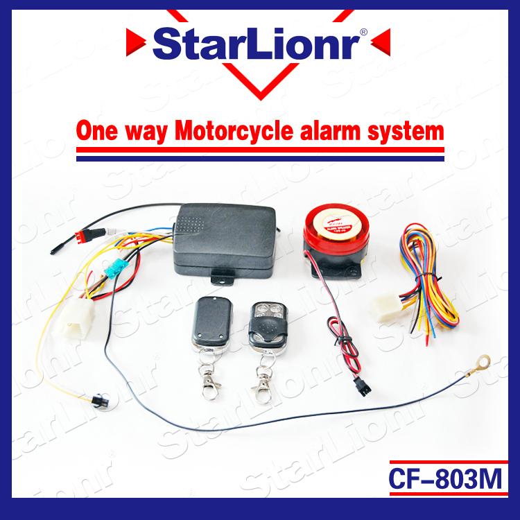 Cf-803m один способ мотоцикл сигнализация система с два дистанционное управление