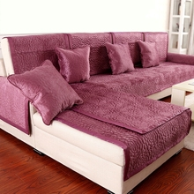 4color 2or3 Seat Sofa Covers Fleeced Fabric Knit Eco-Friendly Anti-Mite Manta Sofa Slipcover Couch Cover for living/Drawing Room(China (Mainland))