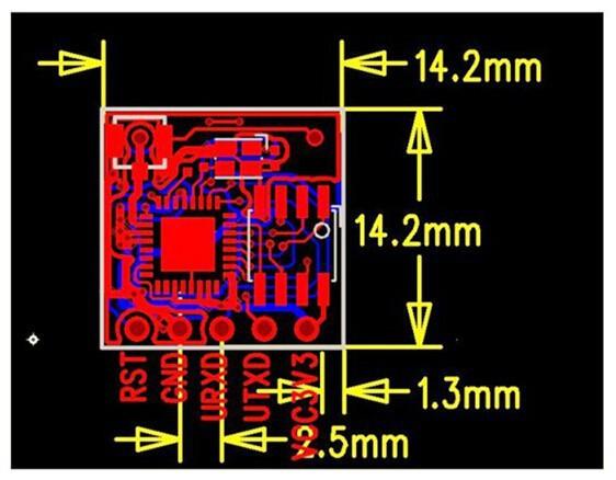 Free Shipping 5pcs/lot ESP-05 WiFi module ESP8266 serial WIFI AP and STA and AP + STA wireless coexistence module