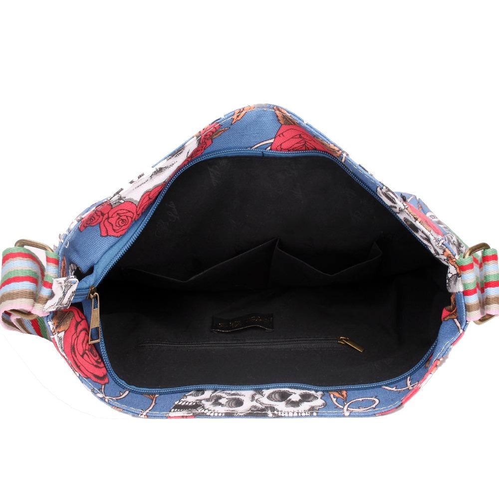 hermes bag price - Aliexpress.com : Buy 1 X Skull Rose Canvas School Messenger ...