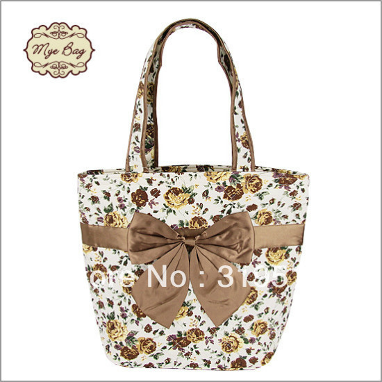 The Princess bag / stewardess package of the Thailand Mangu Bao side shoulder bag / gold rose bag / Mummy bag / bow package(China (Mainland))