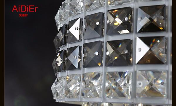 Купить Европа люстра вилла пентхаус этаже гостиная лестницы кристалл Спальня люстра лампа отель проект Dia600xH2800mm