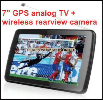 7 gps analog tv navigation bluetooth fm av 4g free 3d maps. Black Bedroom Furniture Sets. Home Design Ideas