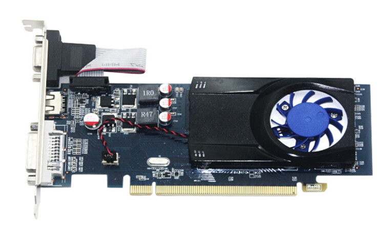 Buy New Graphics card  R7 240 1024M 1G half-height HD Graphics / knife card free shipping cheap