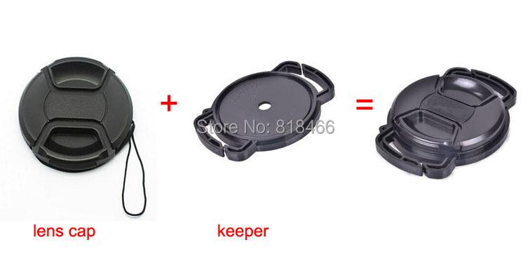 lens cap+Camera Lens Cap keeper 49/52/55/58/62/67/72/77/82mm Universal Anti-losing Buckle Holder Keeper for canon nikon sony slr(China (Mainland))