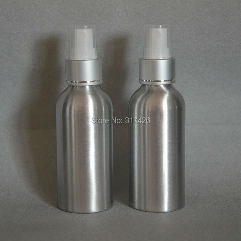 120ml mist sprayer Aluminium bottle pump sprayer bottle Aluminum metal bottle spray bottle mist sprayer(China (Mainland))