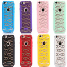 high quality Selling Charm Hollow Sky snow mingle tpu Plastic Hard Back Case Cover For iPhone 5 5s 5c snow curtain sp208(China (Mainland))