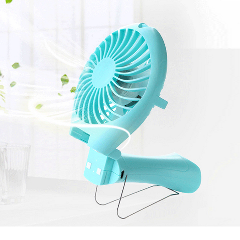 Portable Handheld Mermaid Fans Rechargeable Air Conditioner Usb Housing Fan 1500mAH Air Conditioning Foldable Ventilador Fans(China (Mainland))