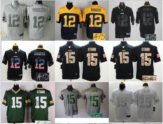 NO-9 2016 high quality,Green Bay Packers,Aaron Rodgers ,Davante Adams,Randall Cobb(China (Mainland))