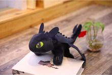 2019 Como Treinar O Seu Dragão 3 35 centímetros de Brinquedo de Pelúcia-60 centímetros Desdentado Fúria da Luz/Noite Fúria stuffed Boneca Presente(China)