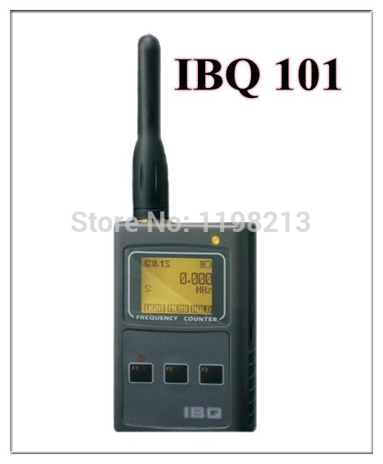 IBQ101 handheld frequency meter 50MHz-2.6GHz for Two Way Radio free shipping Frequency Counter