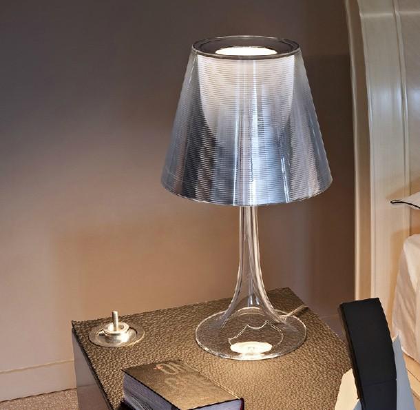 Simple Transparent Table Lamp Art Deco Philippe Starck Tables Light Acrylic Table Lamp Modern Foyer Transparent Table Lamp(China (Mainland))