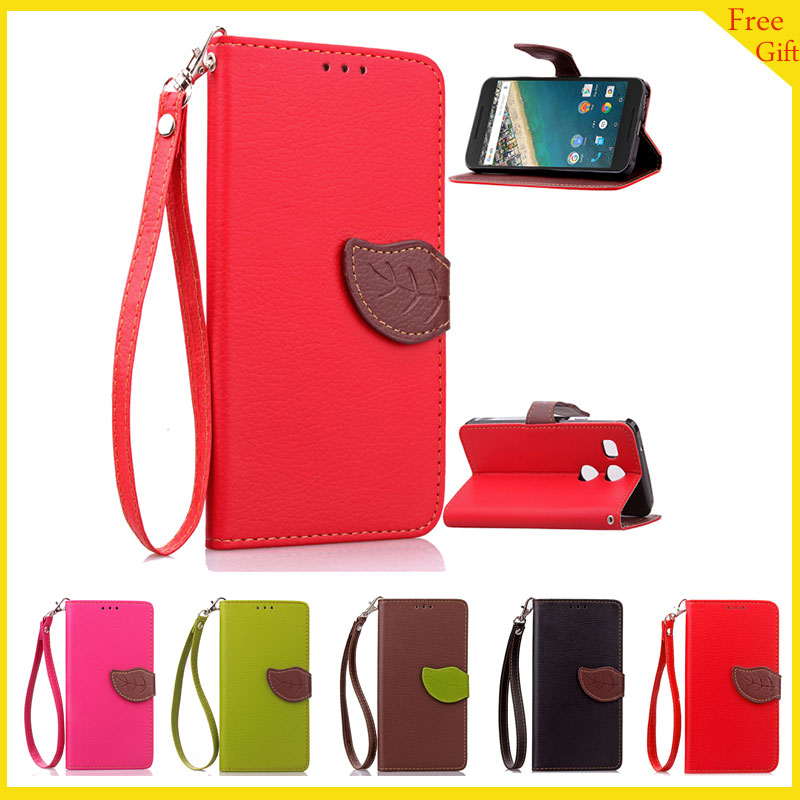 New Luxury Wallet PU Leather Cover Case For LG Google Nexus 5X Case Flip Shell Back Cover For LG Nexus 5X With Card Holder&Stand