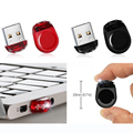 Real Capacity red Black super Mini Tiny waterproof 4GB 8GB 16GB 32GB USB Flash drives Memory