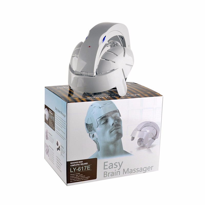 Hot Selling Humanized Design Electric Head Massager Brain Massage Relax Easy Acupuncture Points Fashion Gray Health Care Home  Hot Selling Humanized Design Electric Head Massager Brain Massage Relax Easy Acupuncture Points Fashion Gray Health Care Home