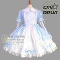 Exclusive Special Customized Children Girls Victorian Lolita Dress Kids Birthday Party Lace Bowknot Ruffled Gothic Dress