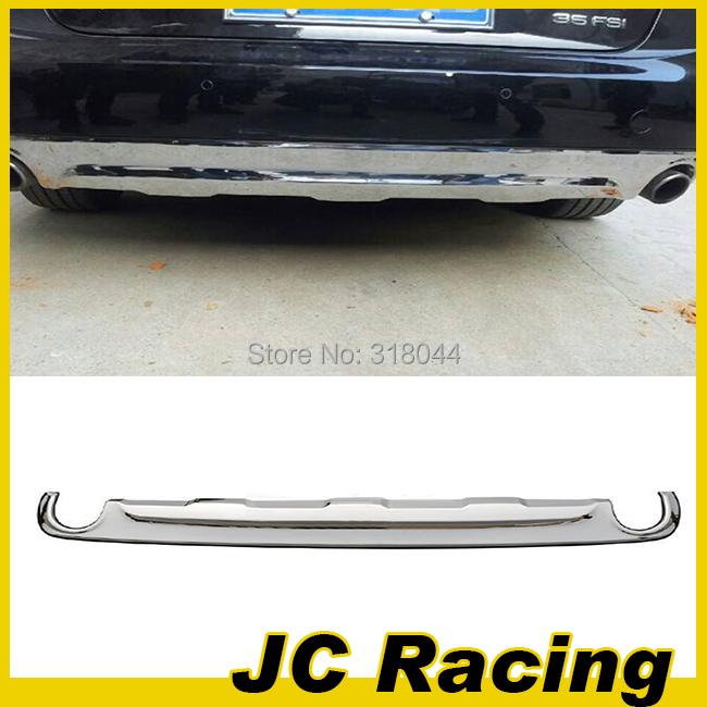 Promotional Stainless steel Rear bumper guard For Audi (Fit For Audi A6 Standard Bumper 2012UP )(China (Mainland))