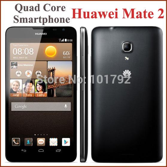 Original Huawei Mate 2 MT2 6.1'' Mobile Smartphone Android 4.2 4G FDD LTE Quad Core 1280x720 2GB+16GB ROM 13MP 3G GPS 4050mAh(China (Mainland))
