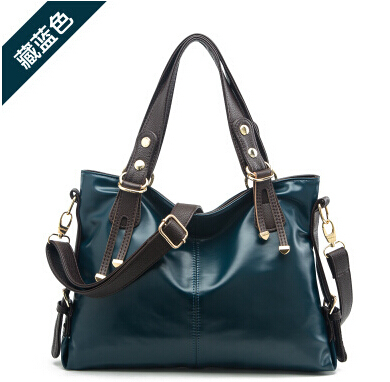 2015 women's trend fashion bags 100% genuine leather handbags cowhide cross-body shoulder women lady hobos bag - fashional accessories store