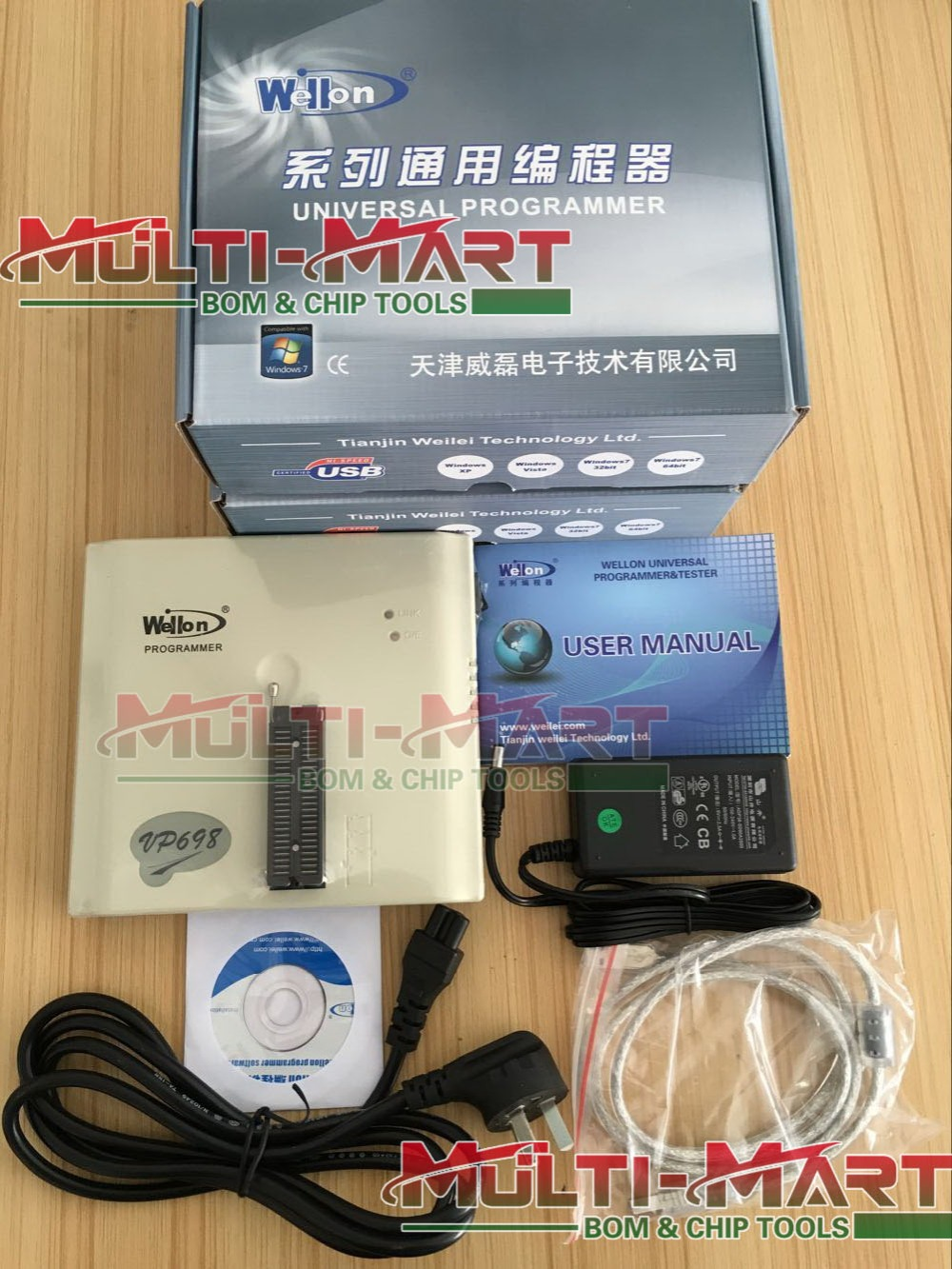 mmm-tech.com: Genuine - Wellon VP-698 / Weilei VP698 universal programmer (upgraded version VP-496 VP496) Multi-Mart Electronics Technology Co., Limited store