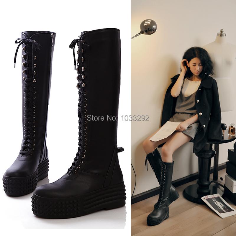 Platform Boots Women