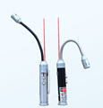 Hot Sales hose powerful white LED lights red laser pointer tail and powerful magnet flashlight for
