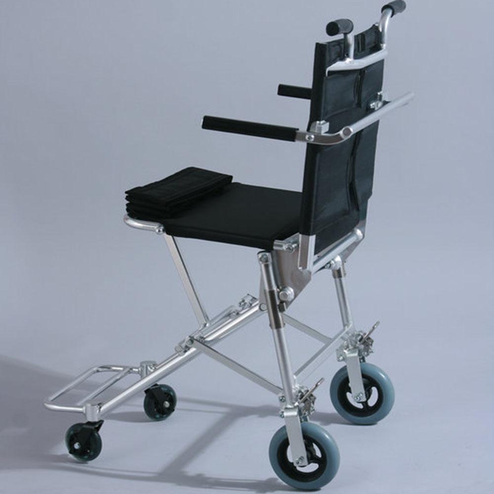 Compra silla de ruedas plegable port til online al por - Silla de ruedas de transferencia plegable y portatil ...