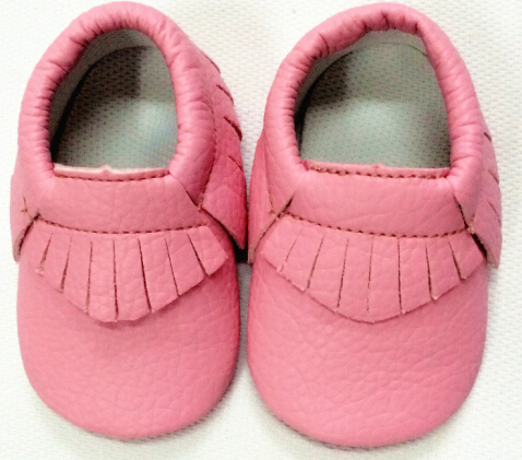 Soft New gold silver pink candy Cute leather Baby Moccasins shoes Boys Girls fringe Toddler Soft Sole Infant Kids Shoes 0-36M(China (Mainland))