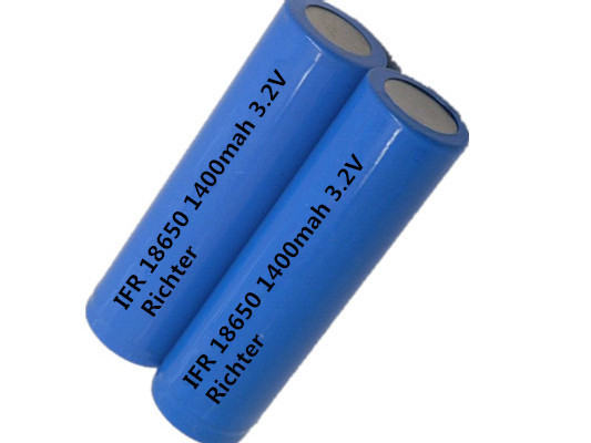 IFR18650 1400mah 3.2V rechargeable battery lithium iron battery(China (Mainland))