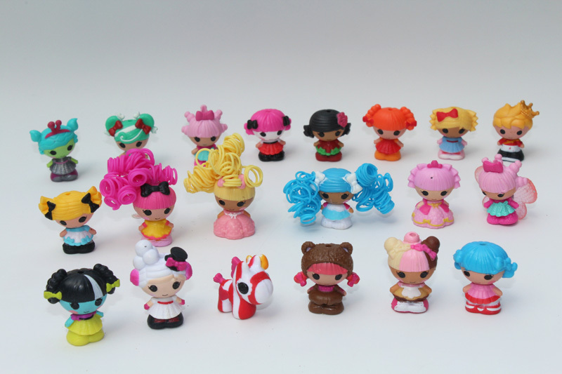 Mini Lalaloopsy Doll The Bulk Button Eyes Action Figure Children Toy Juguetes Brinquedos Kids Toys Best Toy For Girl 10pcs/lot(China (Mainland))