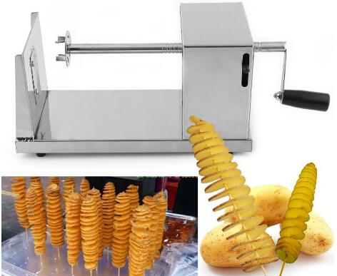 Hotsale tornado potato cutter machine spiral cutting machine chips machine Kitchen Accessories Cooking Tools Chopper Potato Chip(China (Mainland))