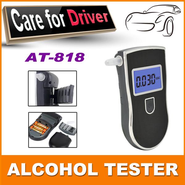 3 шт./упак. цифровой тестер спирта дыхание полиция дыхания цифров высокоточный тестер алкоголя для алкотестер испытаний метр
