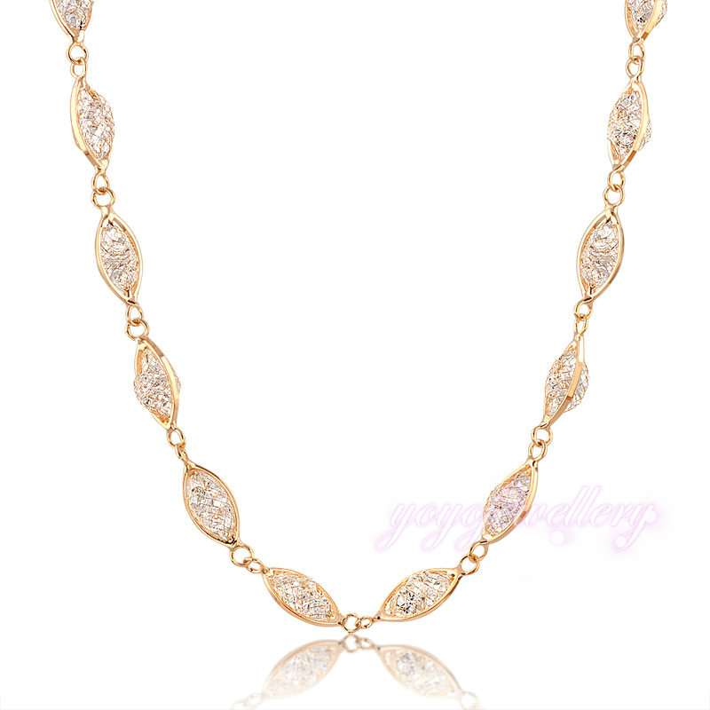 Wedding Gift Necklace : ... Necklace Fishnet Chain Necklace Wedding Gift CN135 from Reliable gift
