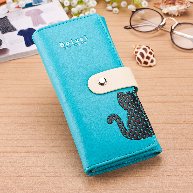 Brand Women Wallet Leather Purse Clutch Higt Quality Luxury Wallet Cat Small Purse Pockets Multifunction Wholesale Price<br><br>Aliexpress