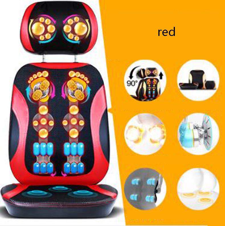 Neck lumbar back massage cushion/Household whole body Multi-function electric massager/Free split design/110904/05(China (Mainland))