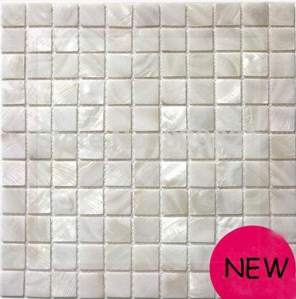 Гаджет  11 Sq.ft / Lot White Shell Mosaic Tile Kitchen Backplash Waterproof Bathroom Wall Panels Puzzle Mother of Pearl Mosaic Tiles mur None Строительство и Недвижимость