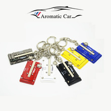 Key chains for honda civic red Engine cover key ring,Keychain,key Holder,car-styling JDM style car-styling(China (Mainland))