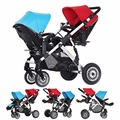 3 in 1 baby jogger twins double stroller pram high landscape bugaboo donkey