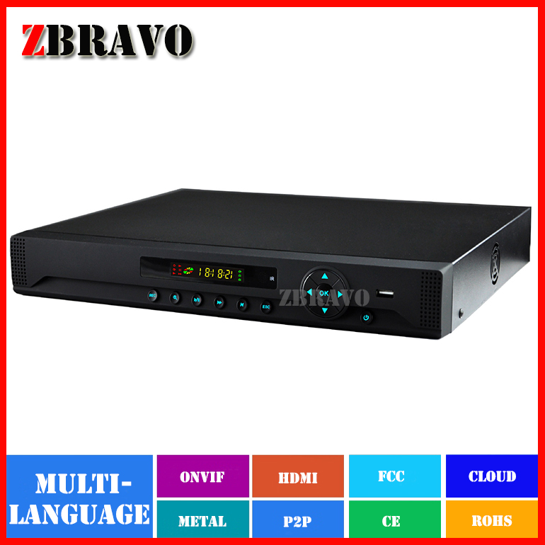 16CH Full HD 720P NVR with LED Display 16Channel Video Recorder support 2PCS HDD,RS485 port,Motion detection,Playback(China (Mainland))
