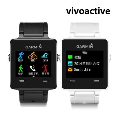 Garmin vivoactive outdoor monitor heart rate,calorie,steps