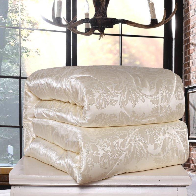 High Quality 100% Natural/Mulberry Silk Comforter for Winter/summer King Queen Full Twin size Duvet/Blanket/Quilt edredom Filler(China (Mainland))