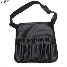 bag in bag Black Professional Artist Essential Makeup Brush Belt Pocket bag organizer for Makeup Case vy
