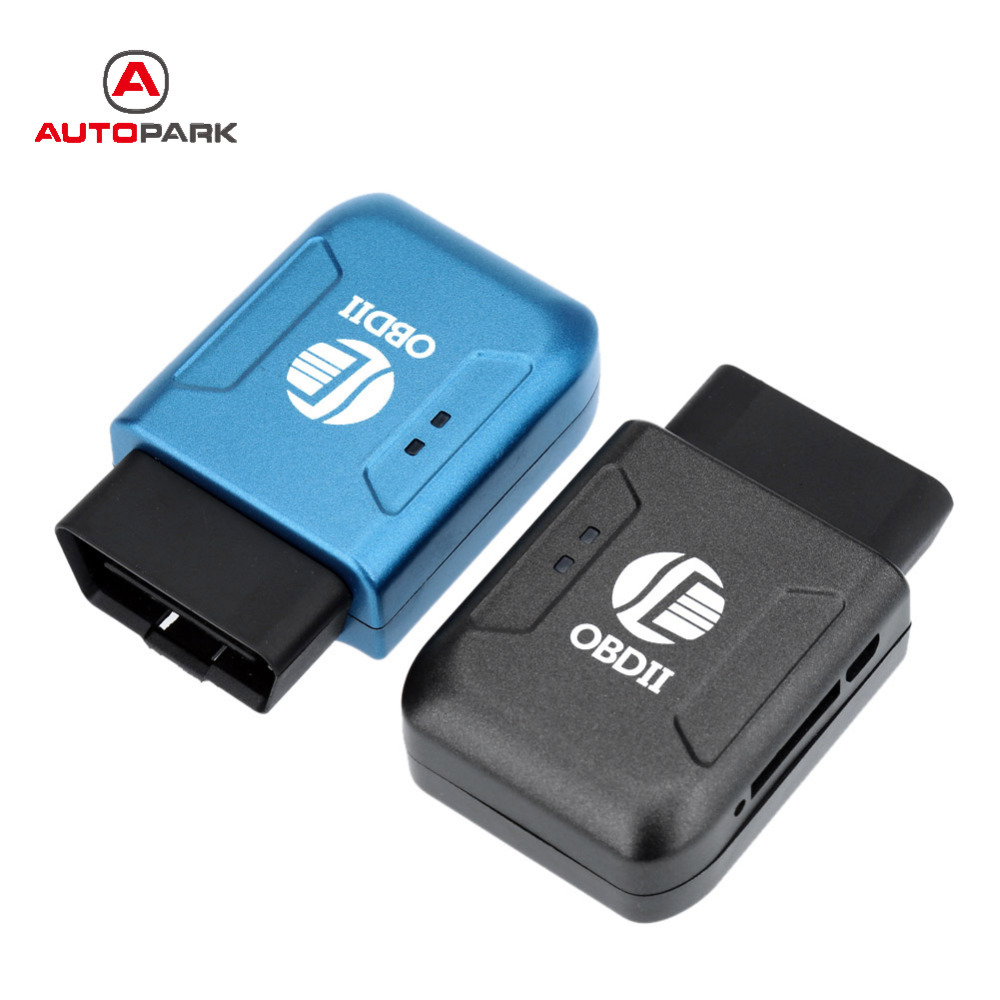 2016 OBD II GPS Realtime Tracker Car Mini Spy Tracking Device System GSM GPRS Blue Universal GPS Tracker with OBD2 Interface(China (Mainland))