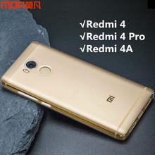 Buy Redmi 4 case cover Xiaomi Mi Redmi 4 pro case MOFi original redmi 4 pro cover xiaomi redmi 4a case TPU soft back case capa funda for $5.26 in AliExpress store