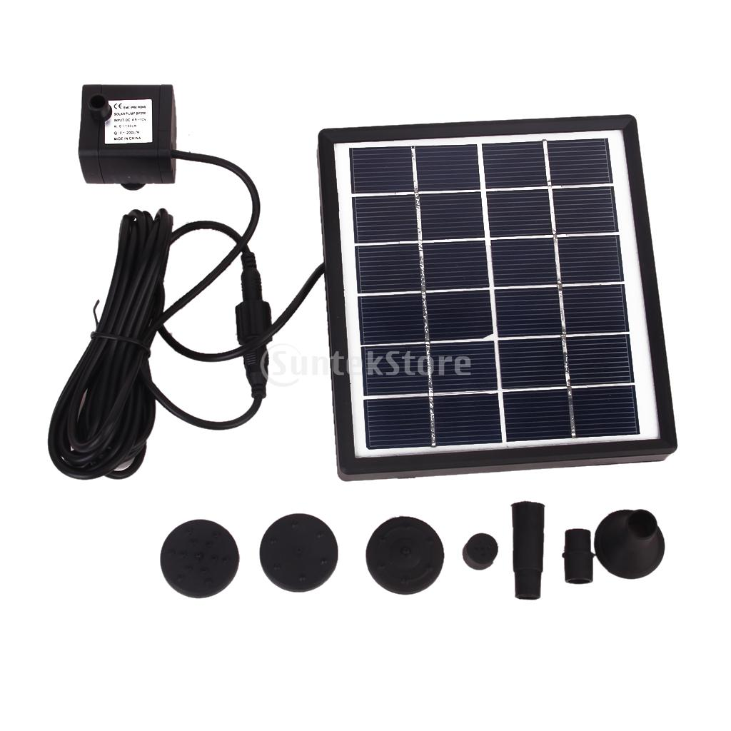 GY-D-0015 Solar Powered Fountain Pool Garden Watering Kits(China (Mainland))